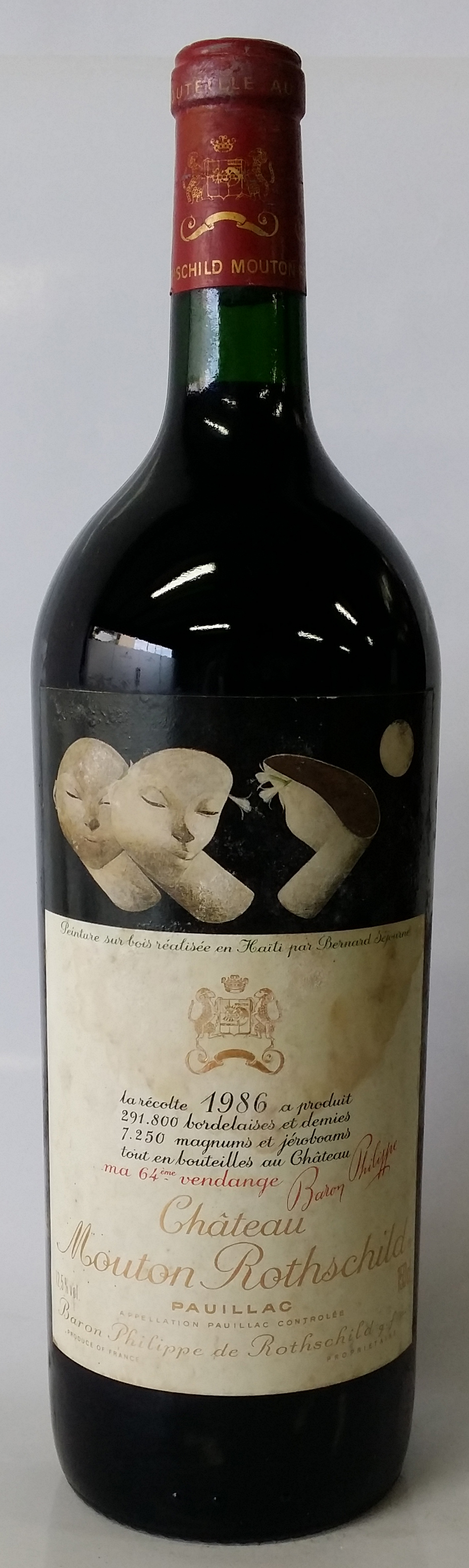 1986 Magnum Baron Philippe Rothschild Chateau Mouton Rothschild
