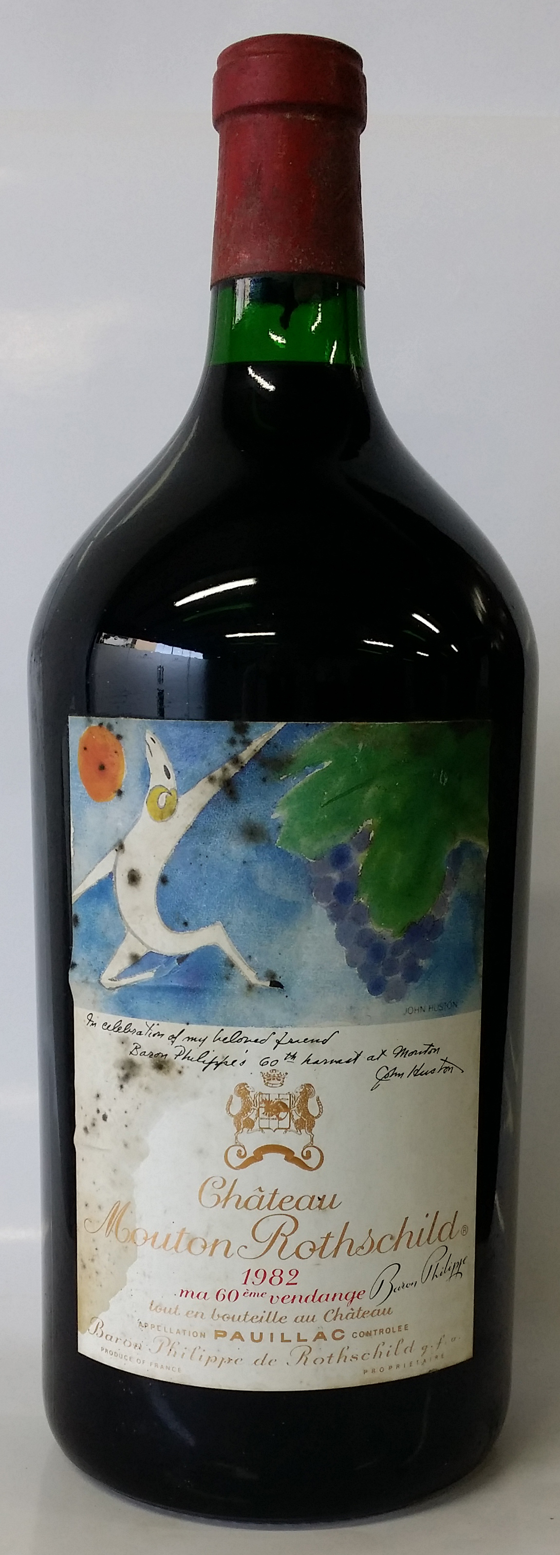 1982 Doble Magnum Chateau Mouton Rothschild