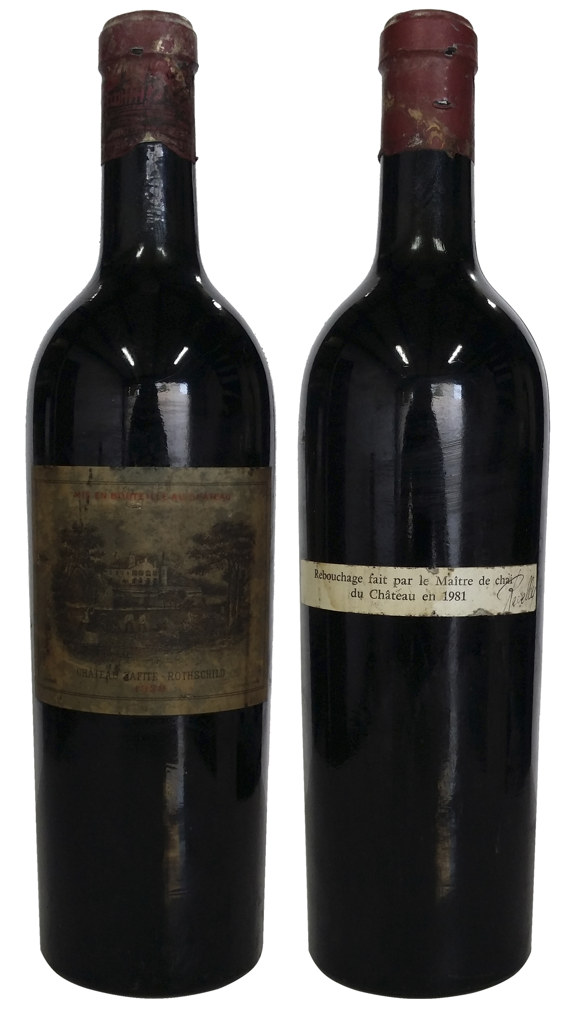 1928 Domaines Barons de Rothschild Chateau Lafite Rothschild