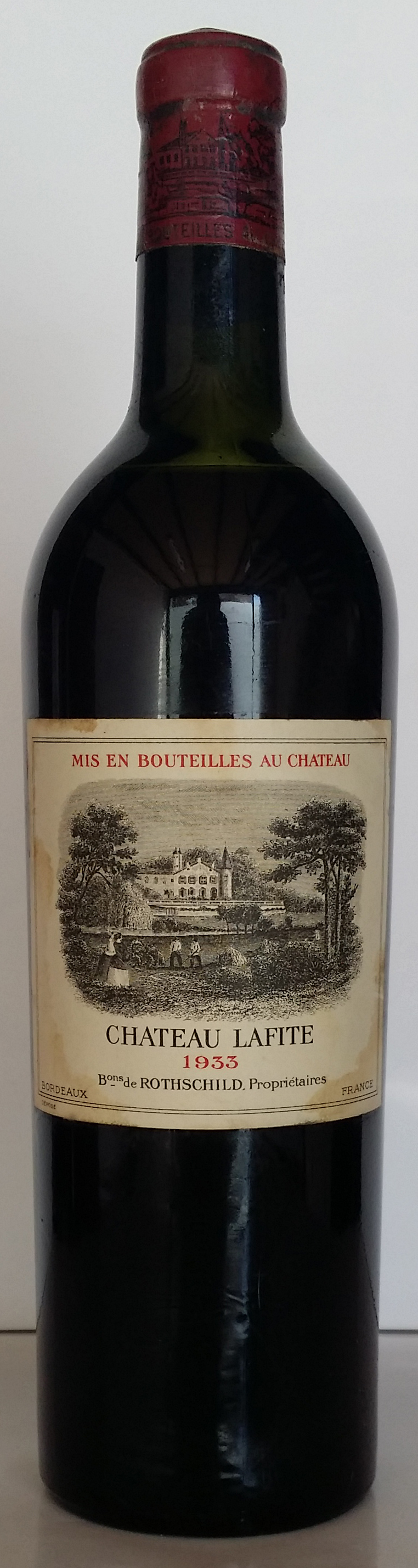 1933 Domaines Barons de Rothschild Chateau Lafite Rothschild