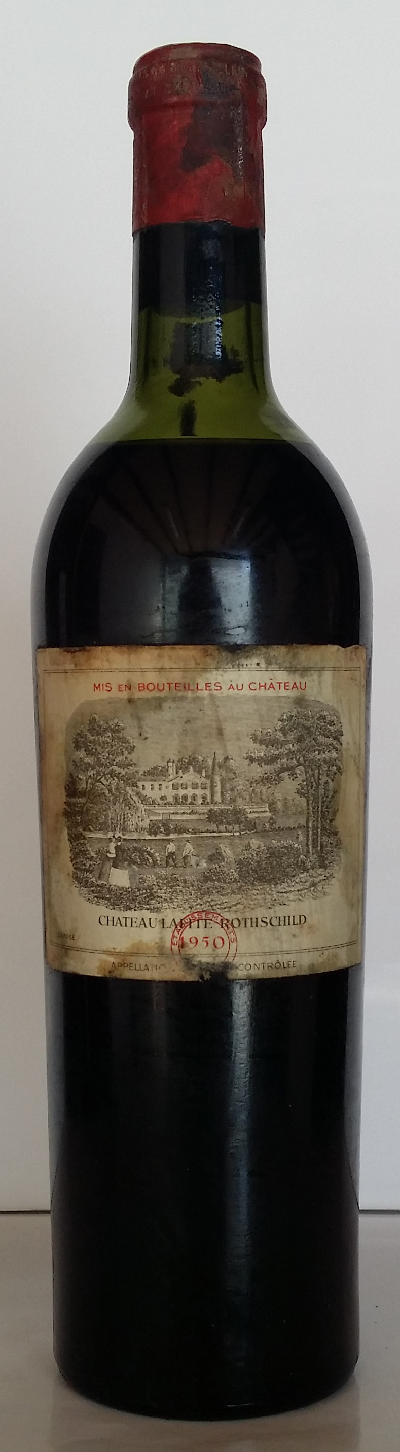 1950 Domaines Barons de Rothschild Chateau Lafite Rothschild