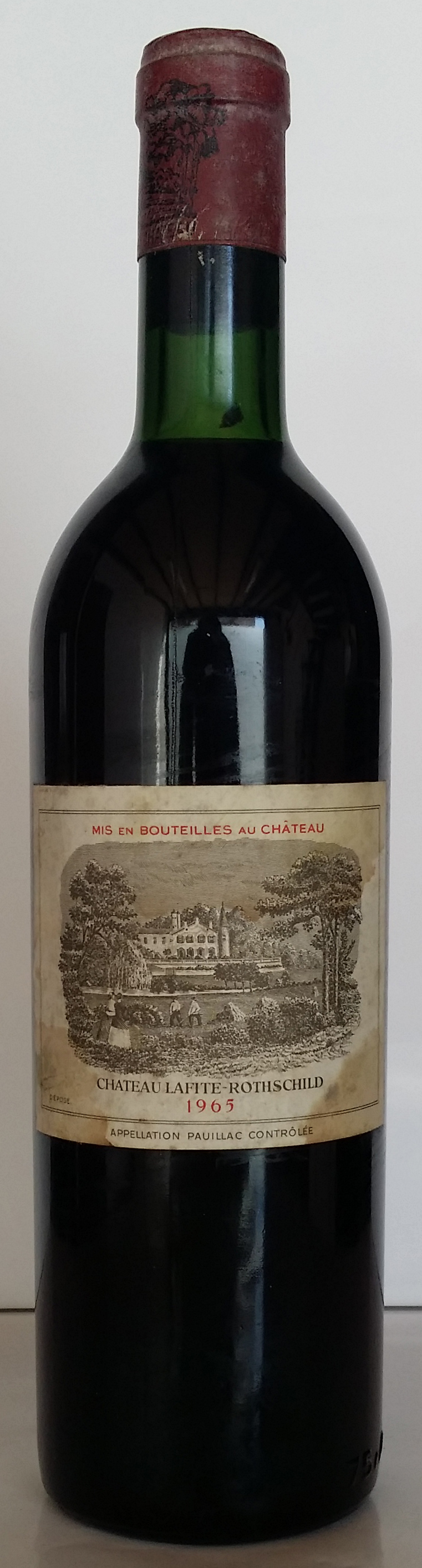 1965 Domaines Barons de Rothschild Chateau Lafite Rothschild