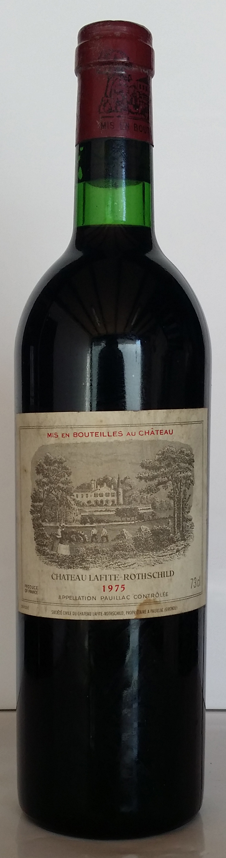 1975 Domaines Barons de Rothschild Chateau Lafite Rothschild
