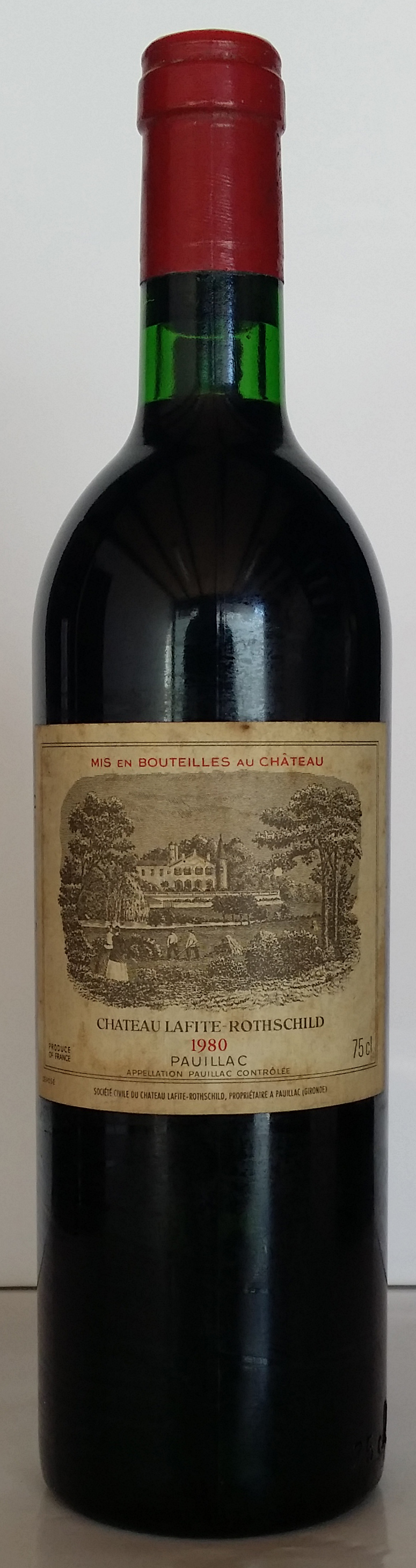 1980 Domaines Barons de Rothschild Chateau Lafite Rothschild