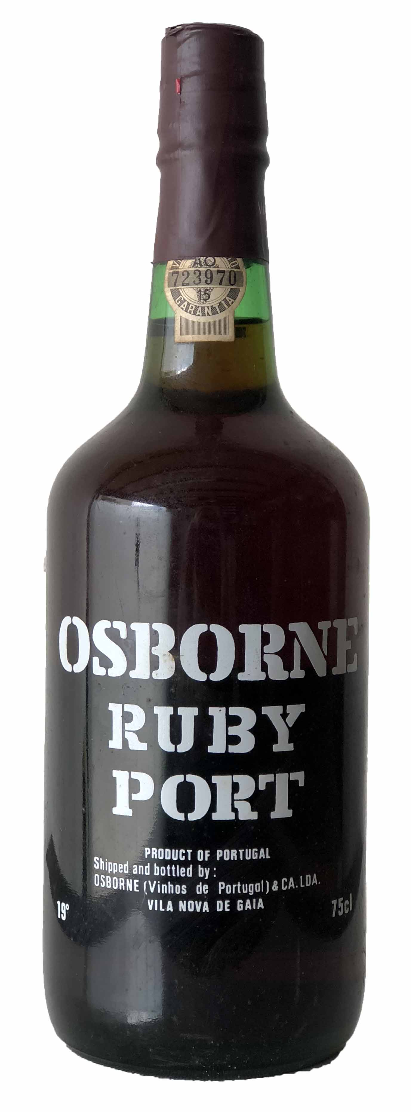 Vino Osborne Ruby Port