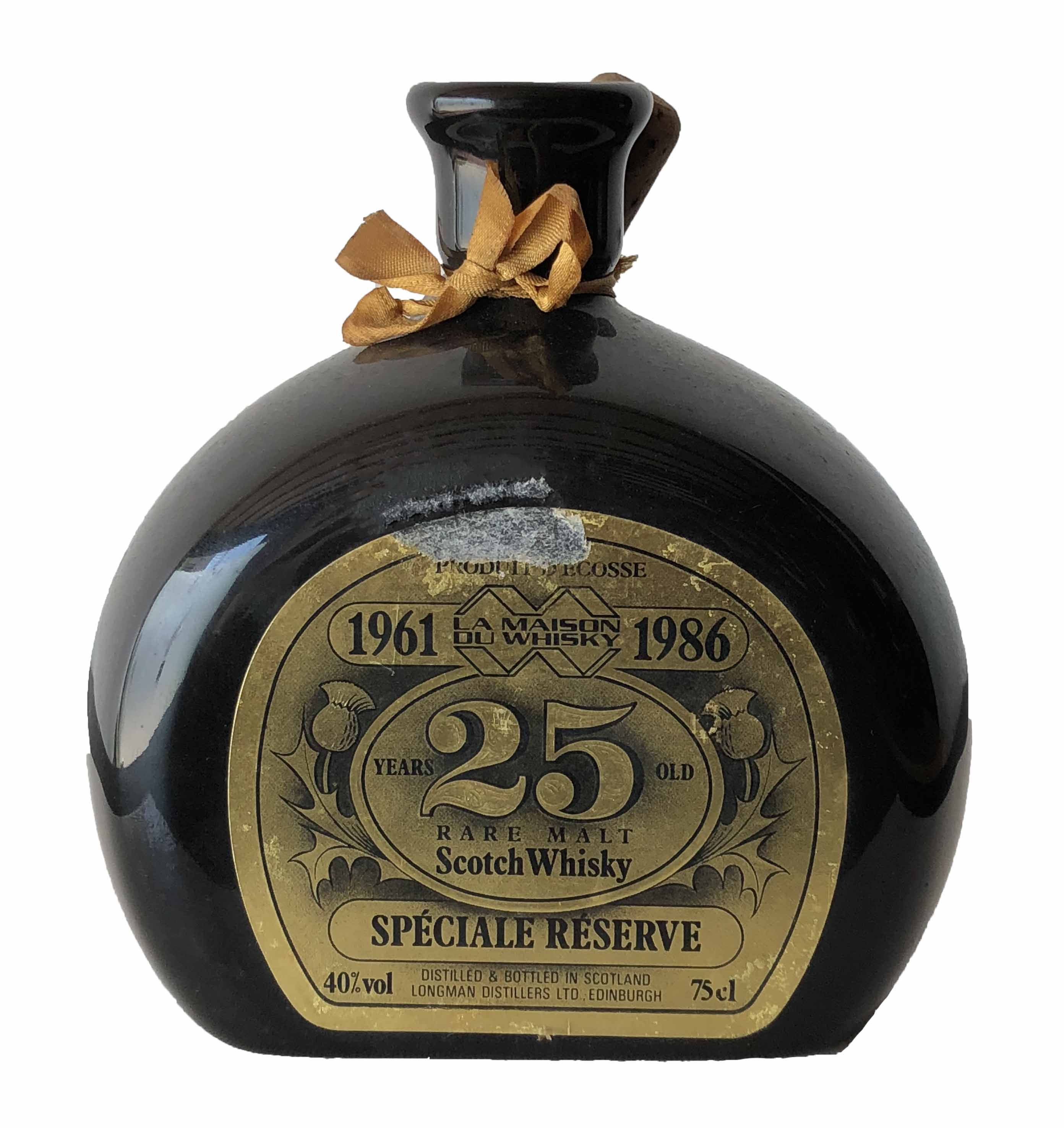 La Maison du Whisky Rare Malt Scotch Whisky 25 years old Spécial